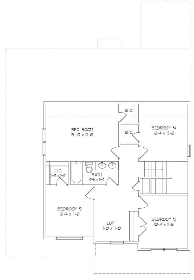 Optional Second Floor Plan
